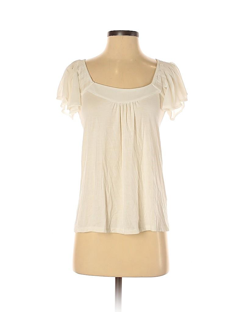 Charlotte Russe Women Short Sleeve Top Size S