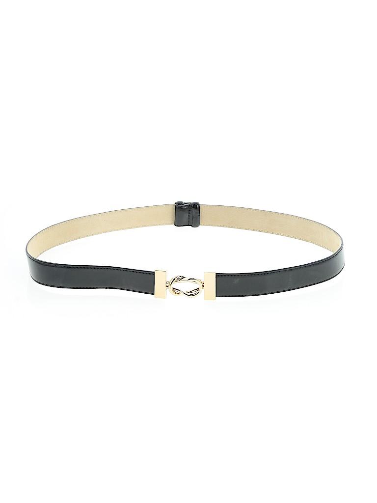 AK Anne Klein Women Leather Belt Size Med - Lg