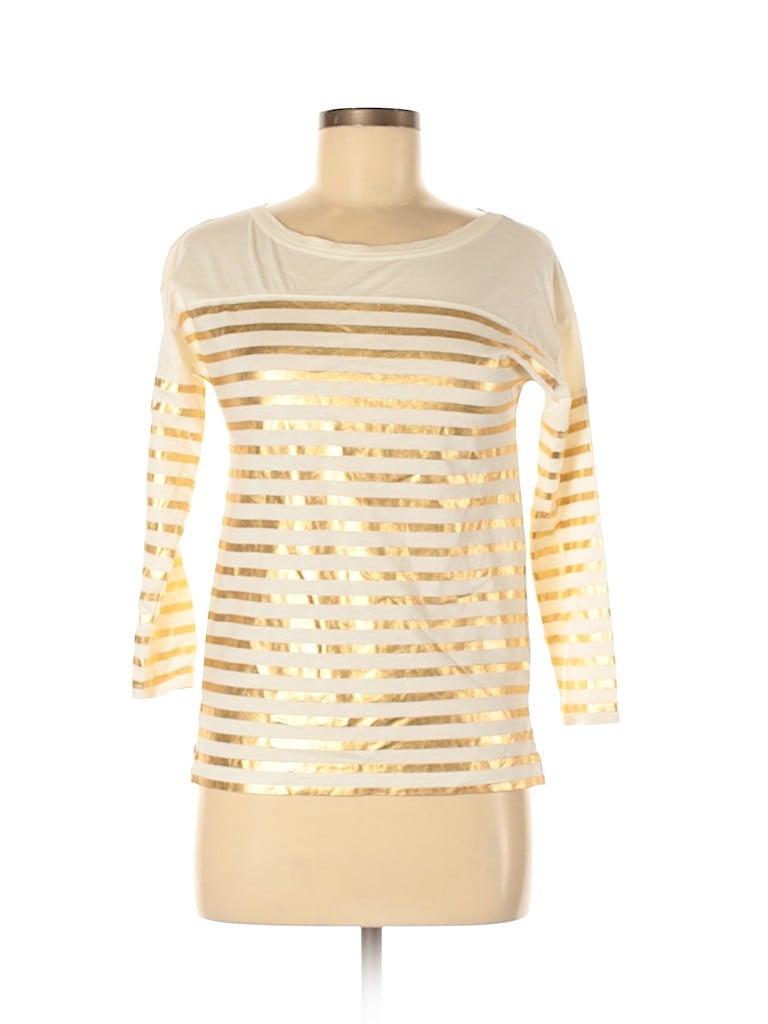 J. Crew Women 3/4 Sleeve T-Shirt Size XXS