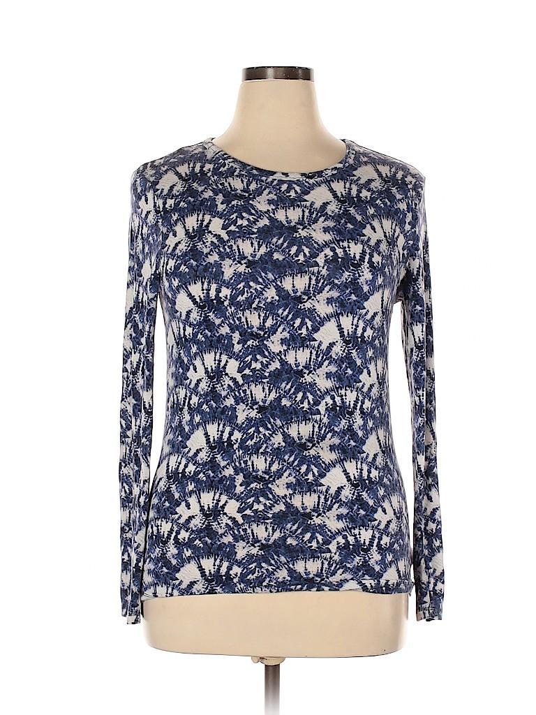 MICHAEL Michael Kors Women Long Sleeve T-Shirt Size XL