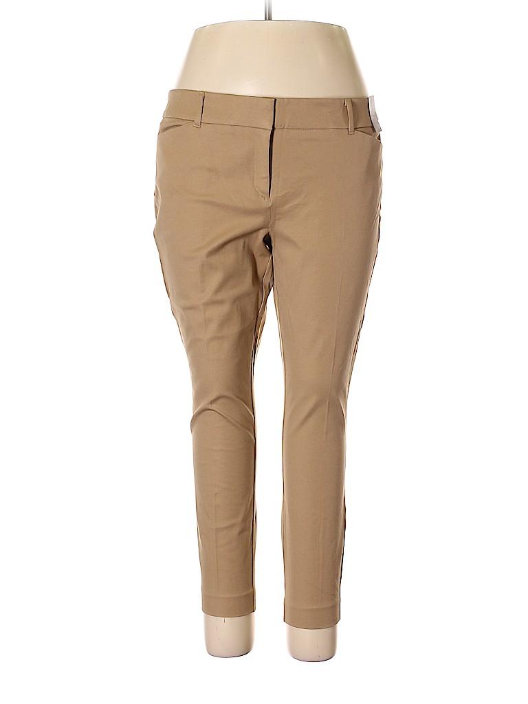 New York & Company Women Khakis Size 18 (Plus)