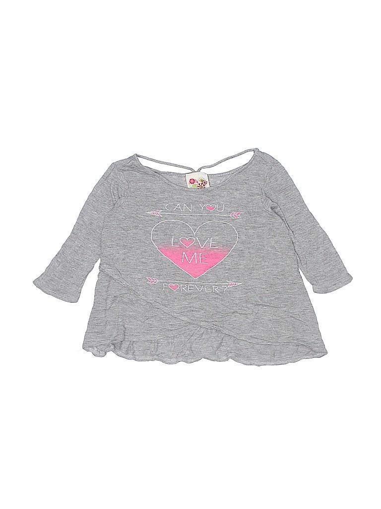 Kiddos Girls 3/4 Sleeve Top Size 10
