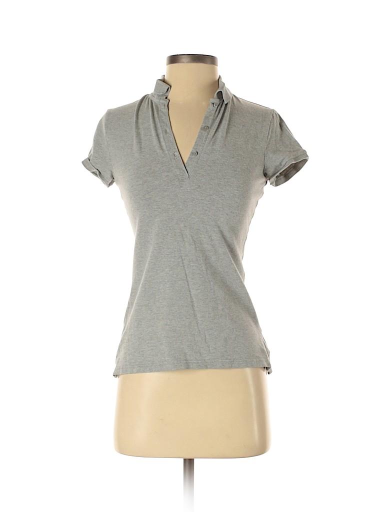 Arizona Jean Company Women Short Sleeve Polo Size S