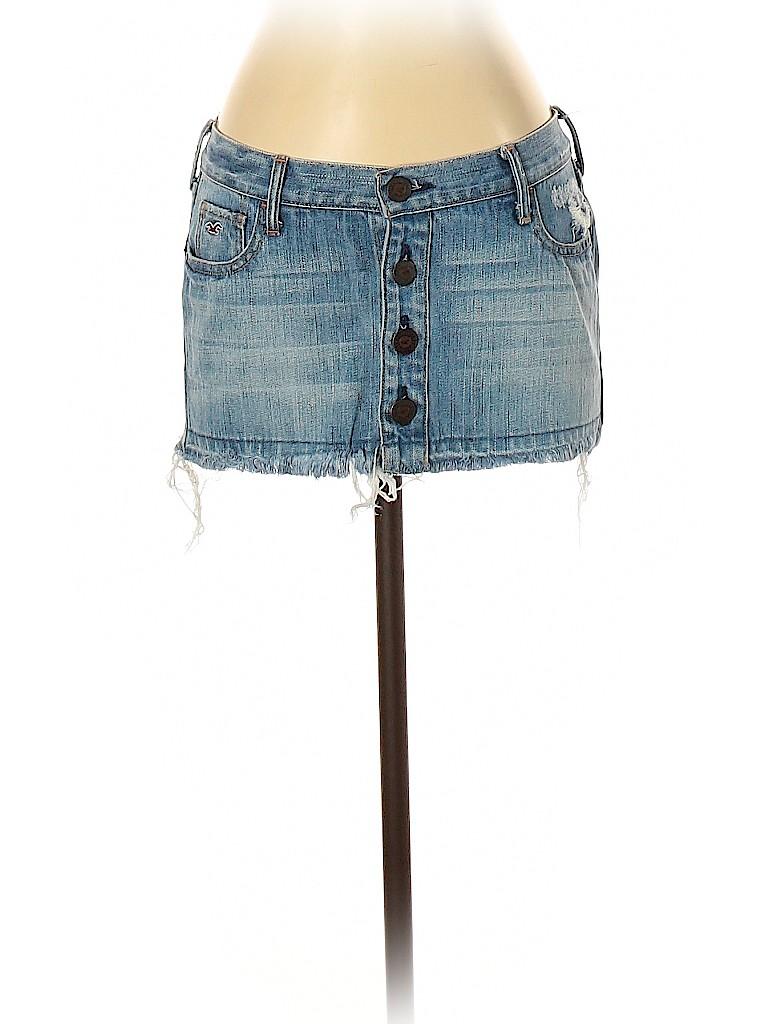 Hollister Women Denim Skirt Size 1
