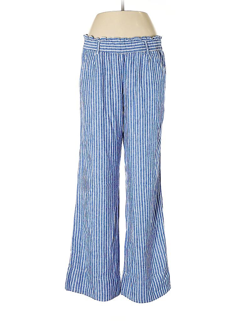 Rewind Women Linen Pants Size L