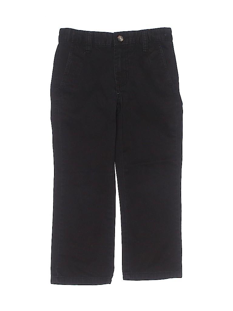 Basic Editions Boys Khakis Size 5
