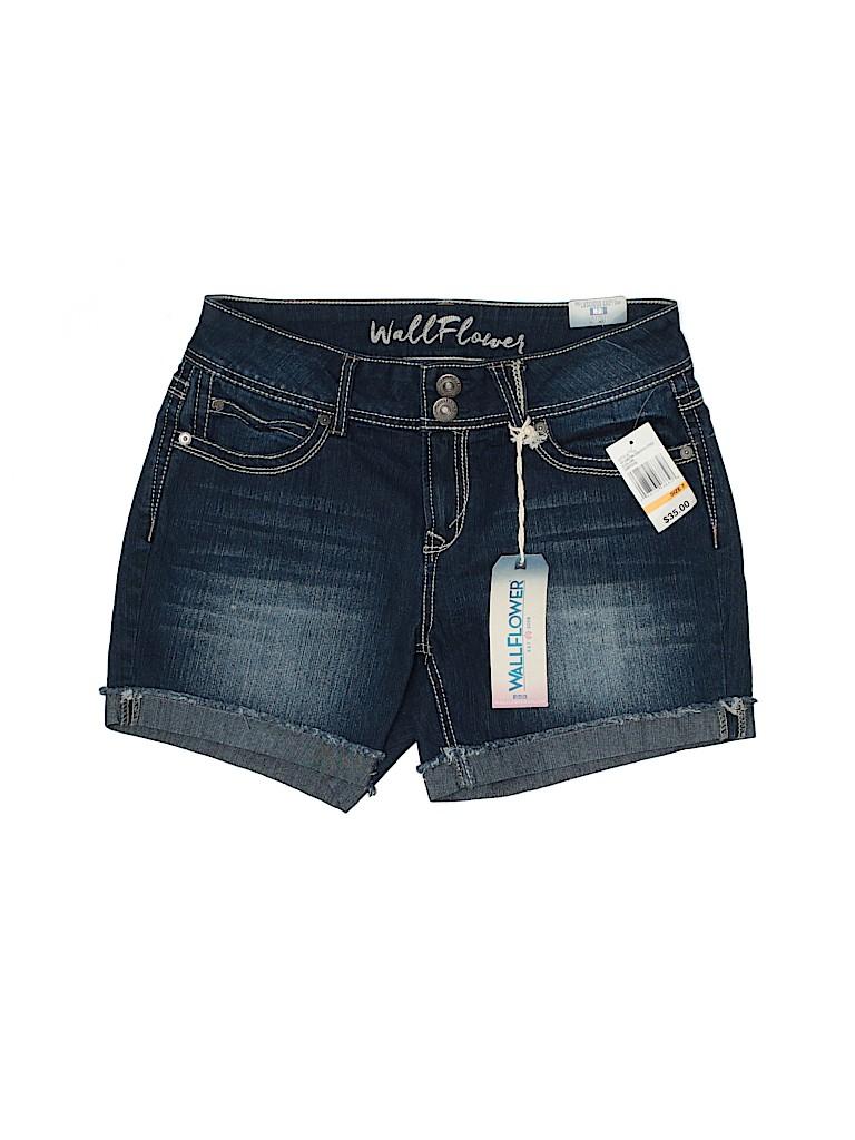 Wallflower Women Denim Shorts Size 7