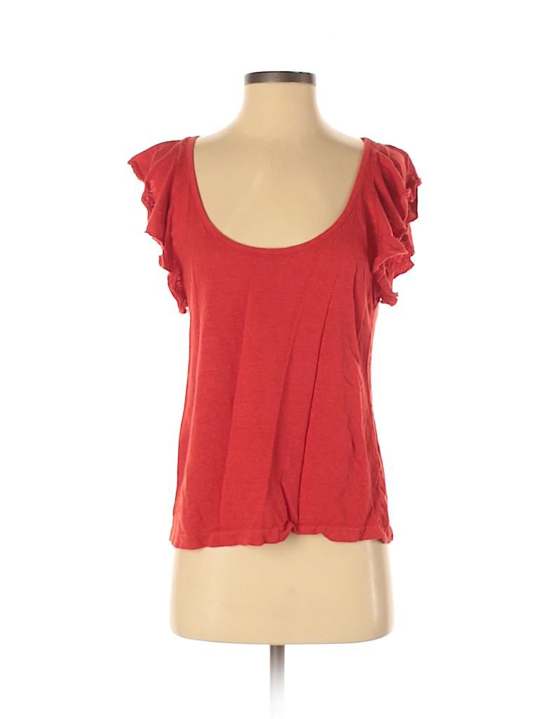 A.L.C. Women Short Sleeve Top Size S
