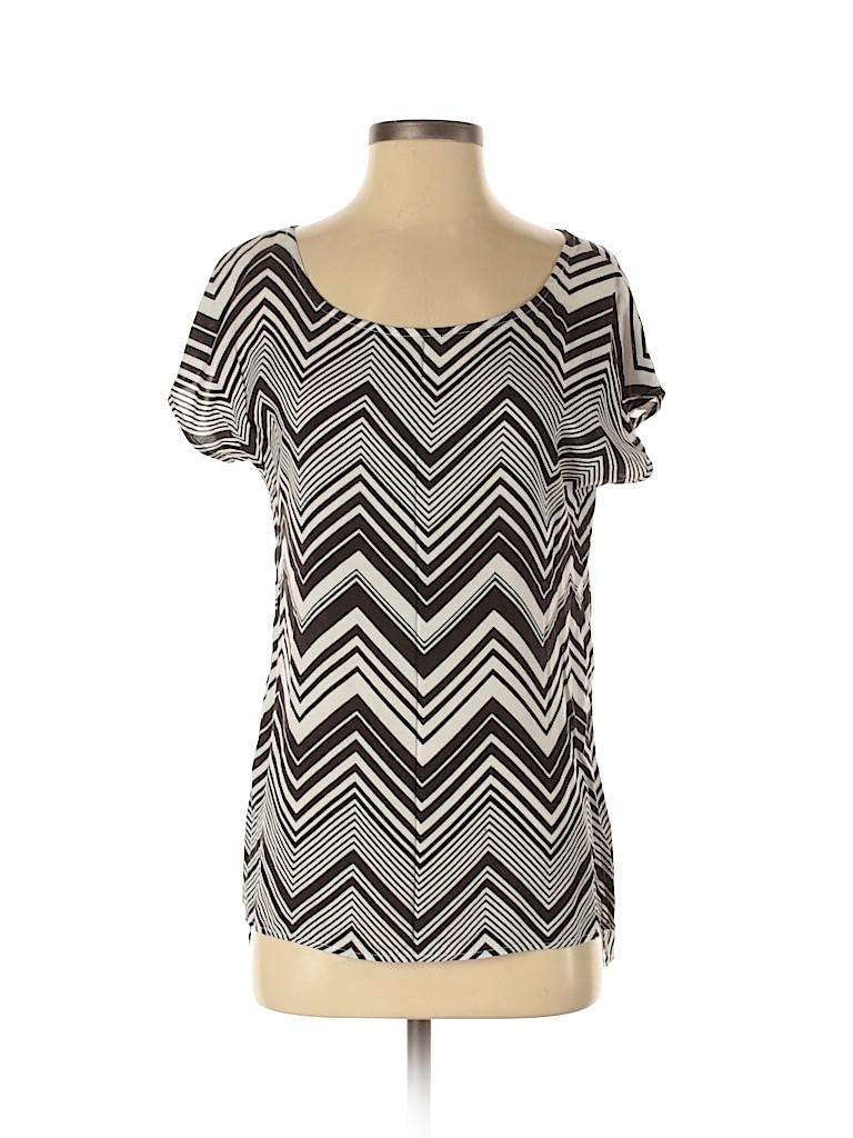 Ella Moss Women Short Sleeve Blouse Size XS