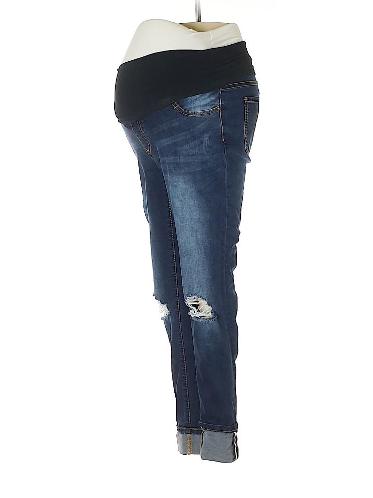 LED Luxe Essentials Denim Women Jeans 26 Waist (Maternity)