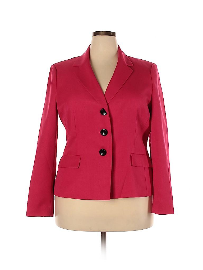 Le Suit Women Blazer Size 18 (Plus)