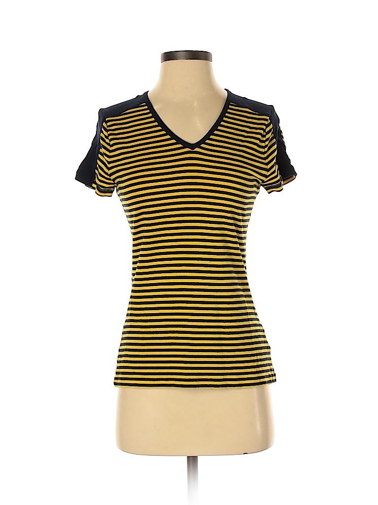 Chaps Women Short Sleeve T-Shirt Size M