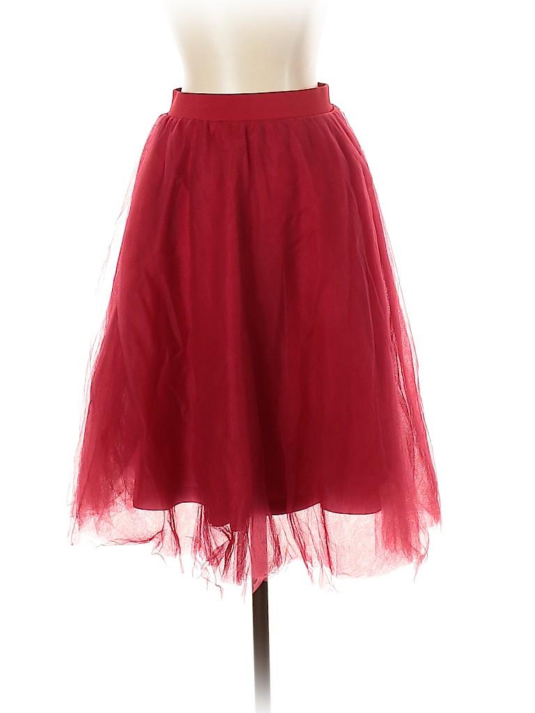 Charlotte Russe Women Formal Skirt Size S