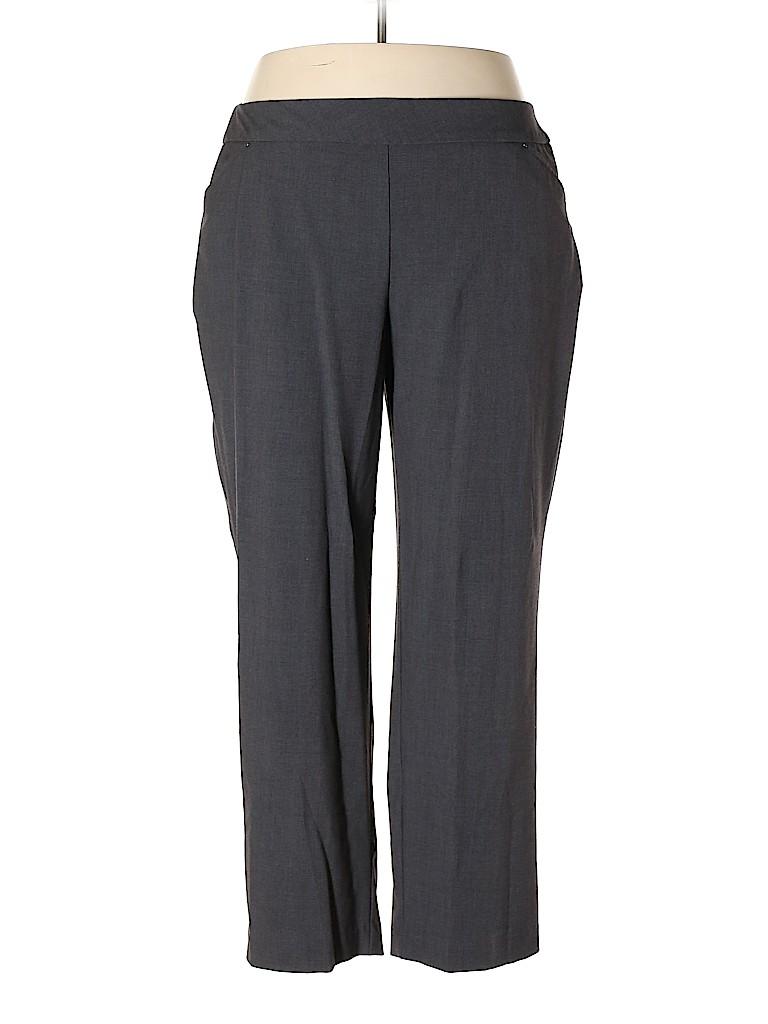 Roz & Ali Women Dress Pants Size 20 (Plus)