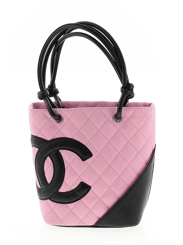 Chanel Women Leather Bucket Bag One Size