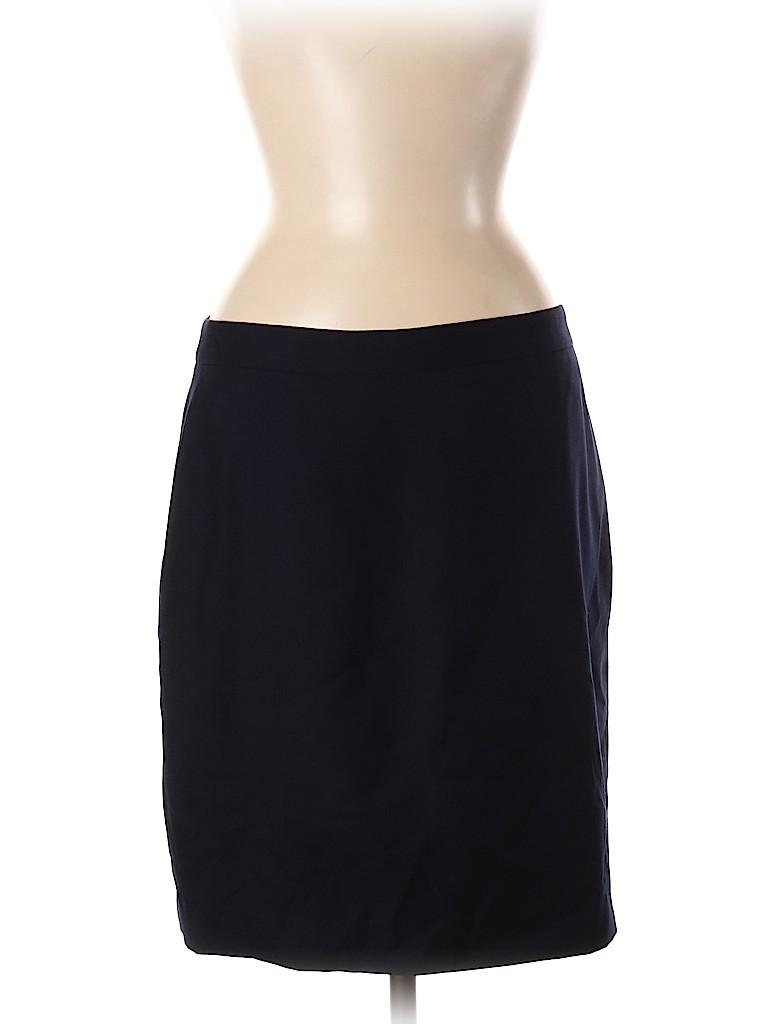 J. Crew Women Wool Skirt Size 8