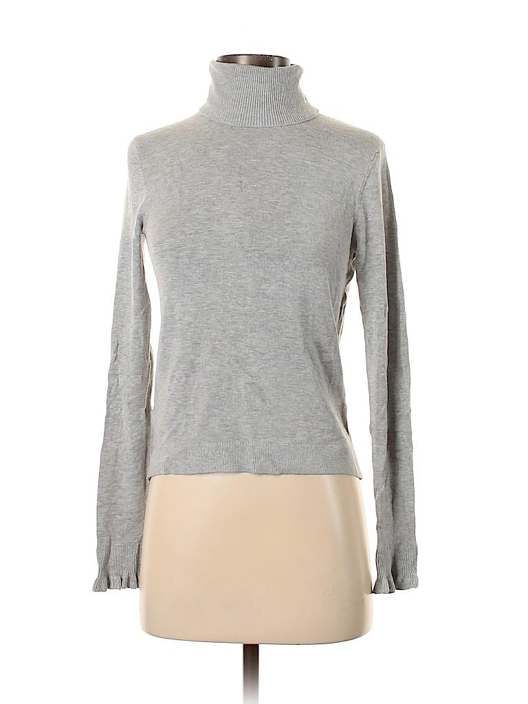 MNG Basics Women Turtleneck Sweater Size S