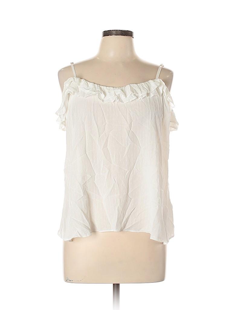 Topshop Women Short Sleeve Blouse Size 12