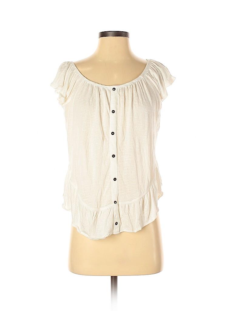 American Rag Cie Women Short Sleeve Top Size S