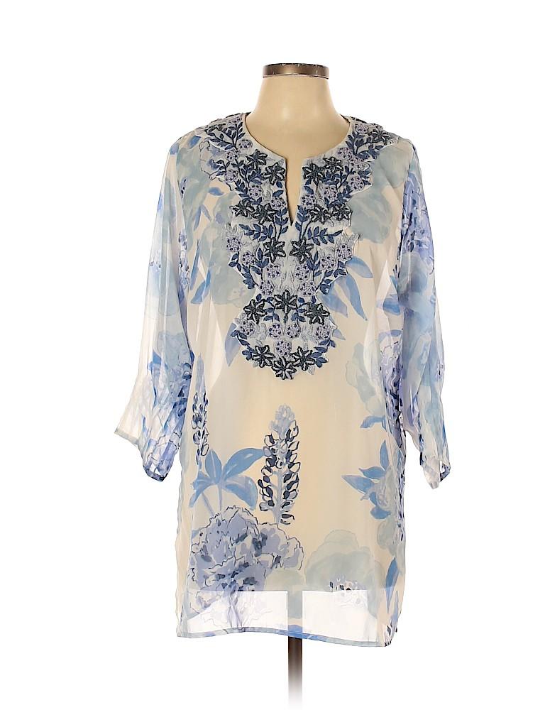 Gretchen Scott Designs Women 3/4 Sleeve Blouse Size XL