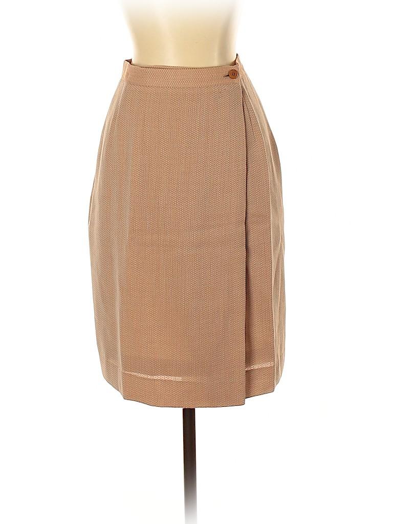 Giorgio Armani Women Wool Skirt Size 4