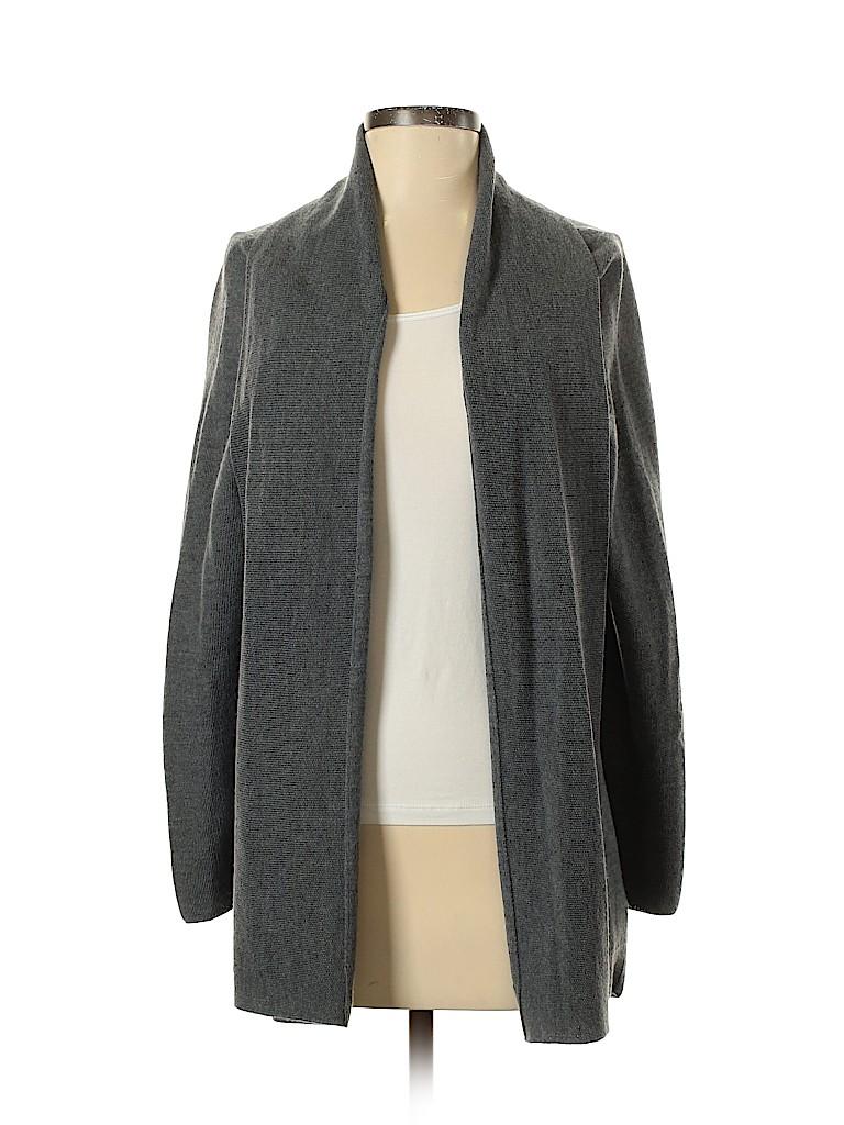 Adrienne Vittadini Women Wool Cardigan Size M