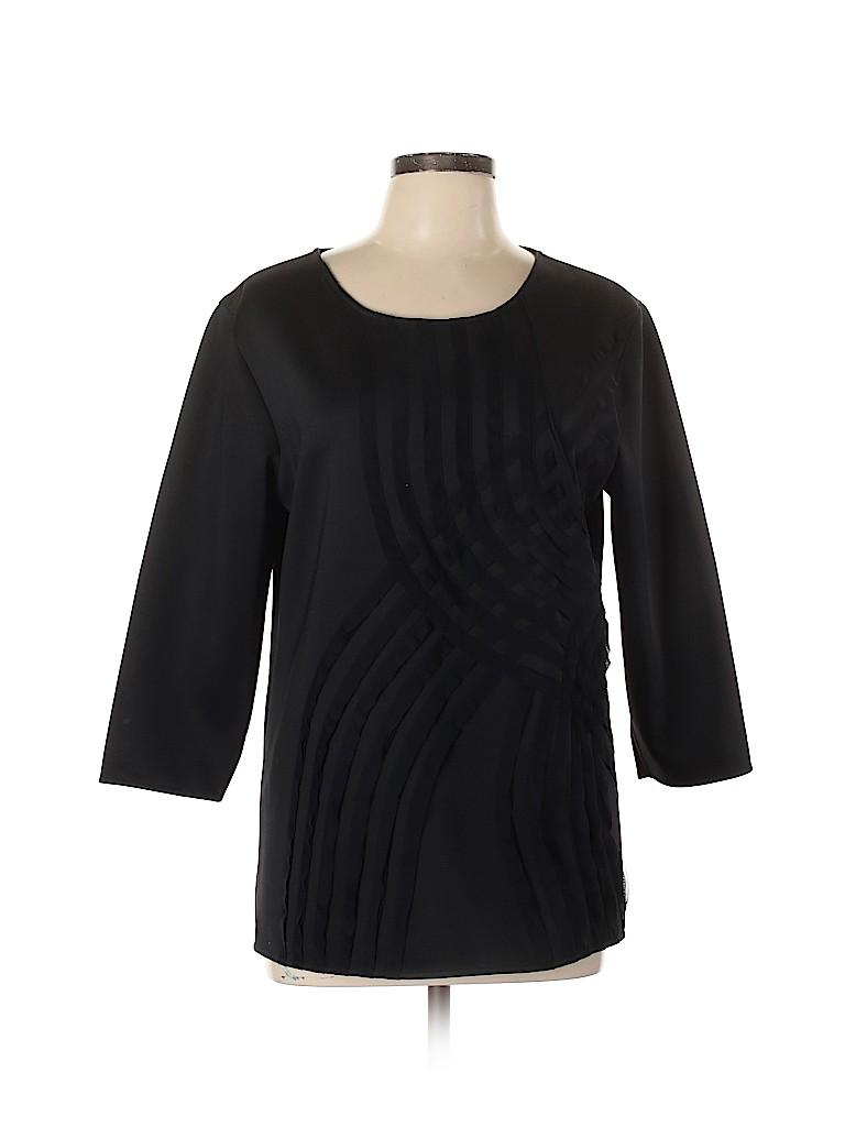 Josie Natori Women 3/4 Sleeve Top Size L