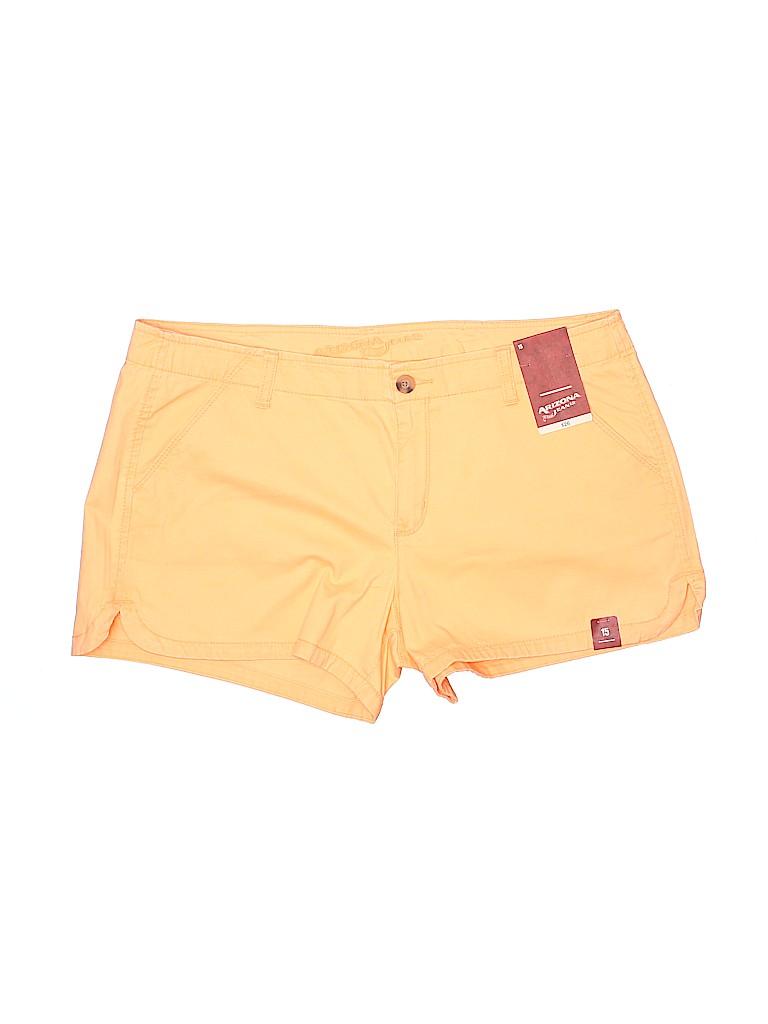 Arizona Jean Company Women Khaki Shorts Size 15