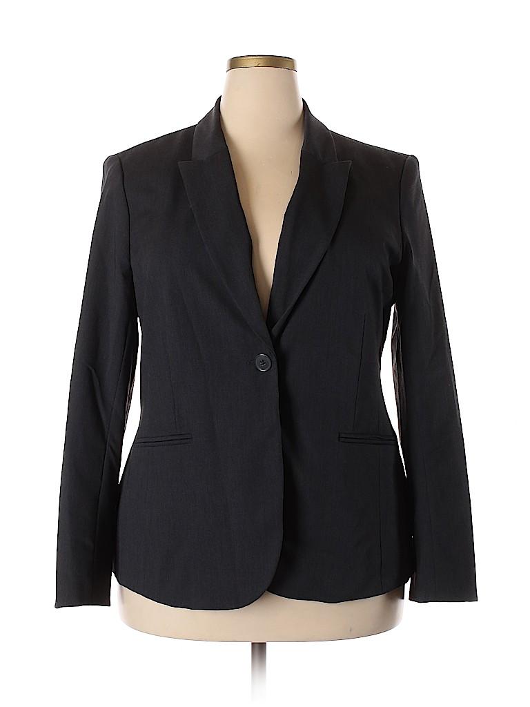 Liz Claiborne Women Blazer Size 18 (Plus)