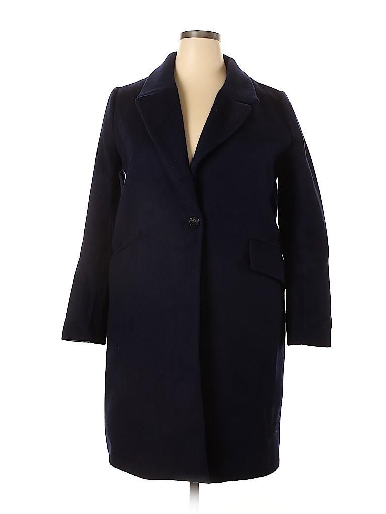 H&M Women Wool Coat Size 14