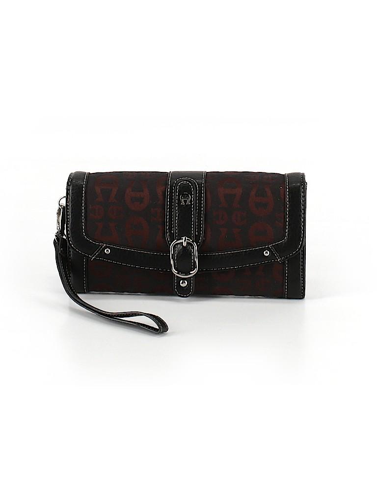 Etienne Aigner Women Leather Wristlet One Size