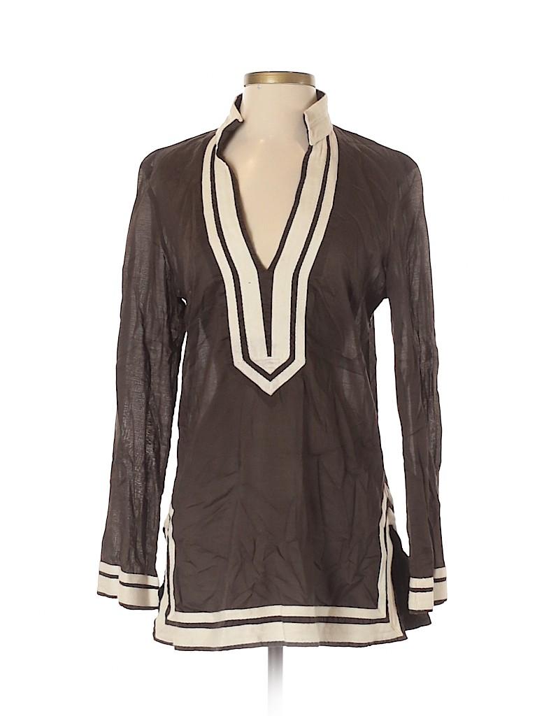 Tory Burch Women Long Sleeve Blouse Size 8