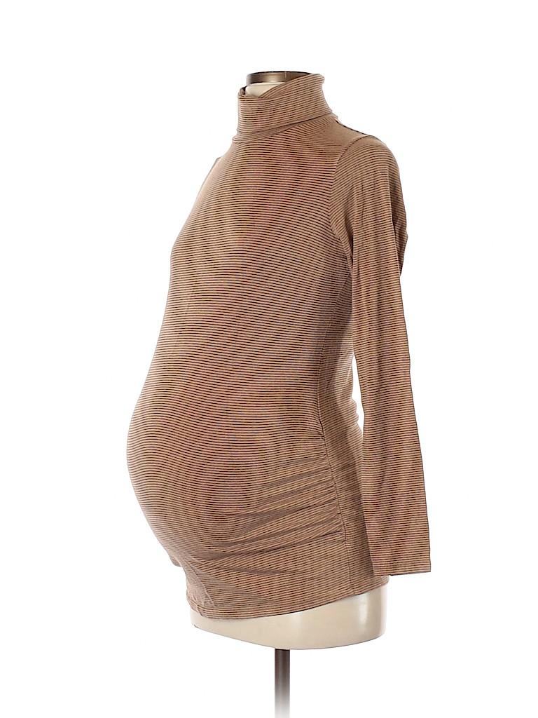 Motherhood Women Turtleneck Sweater Size S (Maternity)