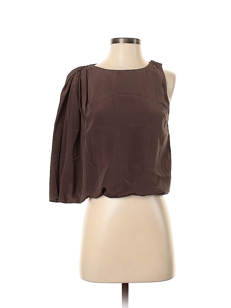 Alice + olivia Women Short Sleeve Blouse Size 4