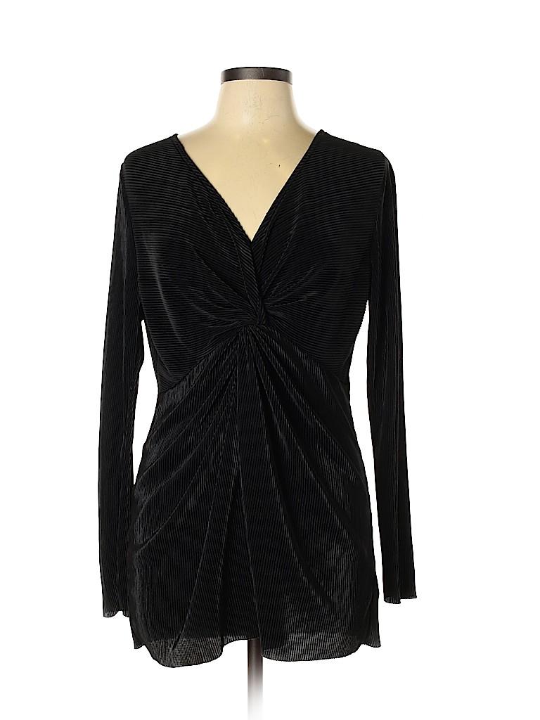 Jessica Simpson Women Long Sleeve Blouse Size L
