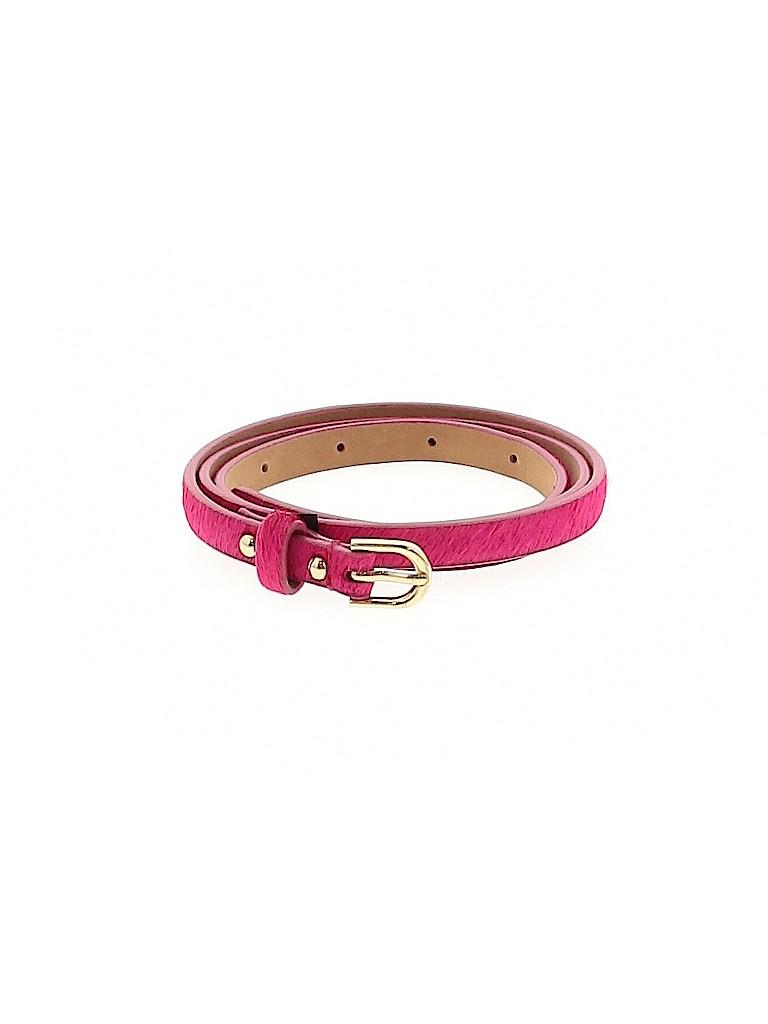 Ann Taylor Women Leather Belt Size S