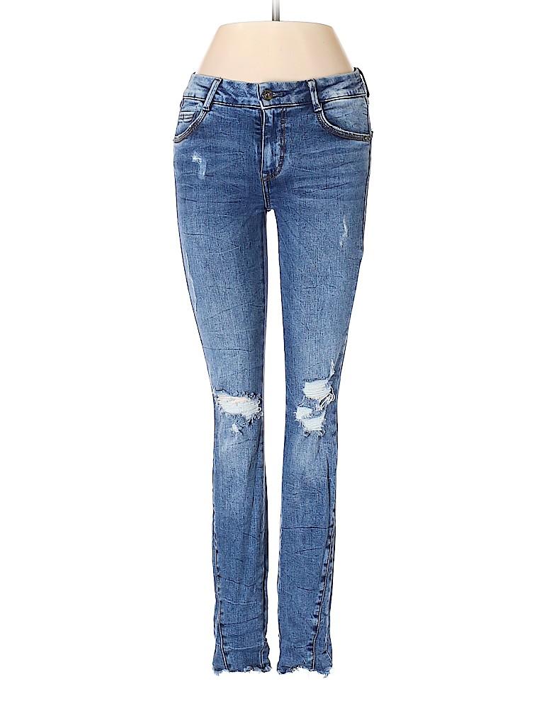 Zara TRF Women Jeans Size 2