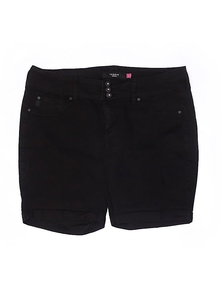 Torrid Women Denim Shorts Size 20 (Plus)
