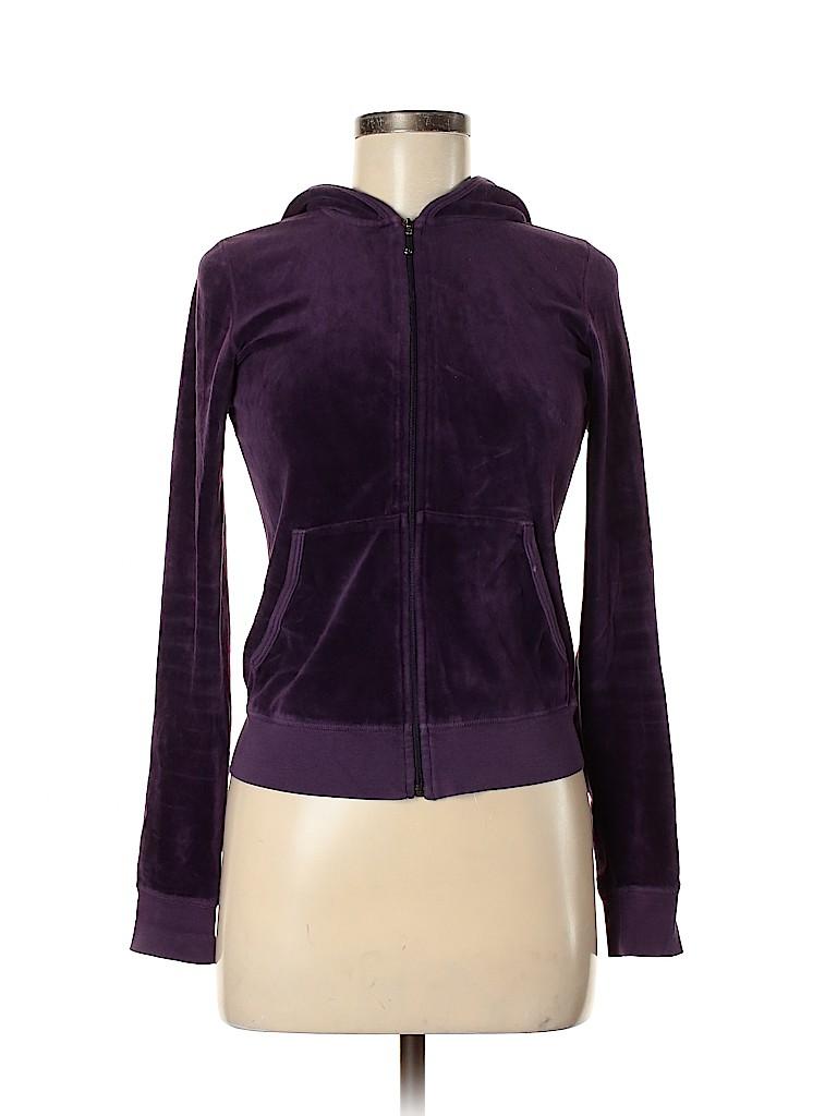 Juicy Couture Women Zip Up Hoodie Size M