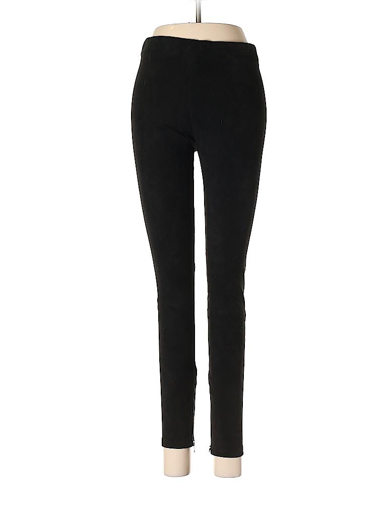 Vince. Women Leather Pants Size S