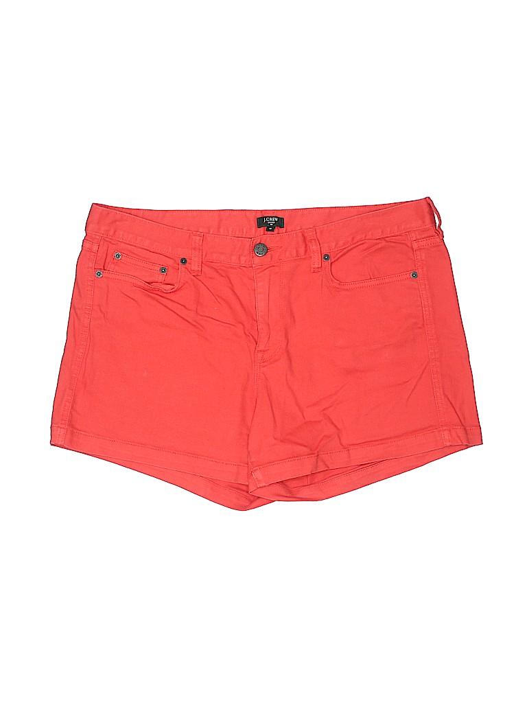 J. Crew Factory Store Women Denim Shorts Size 14