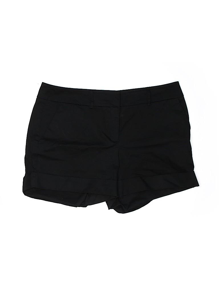 New York & Company Women Khaki Shorts Size 14