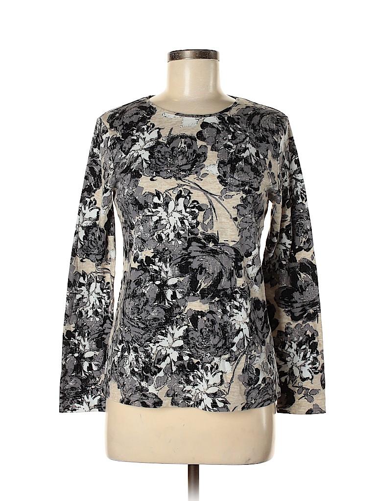Croft & Barrow Women 3/4 Sleeve T-Shirt Size M