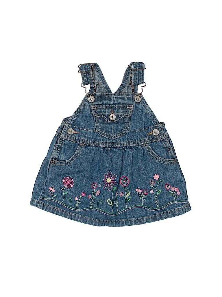 OshKosh B'gosh Girls Overall Dress Size 6 mo