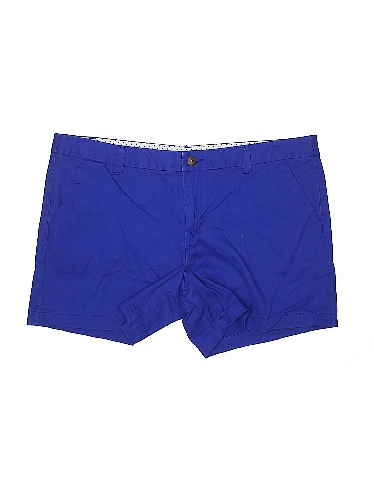 Merona Women Khaki Shorts Size 16
