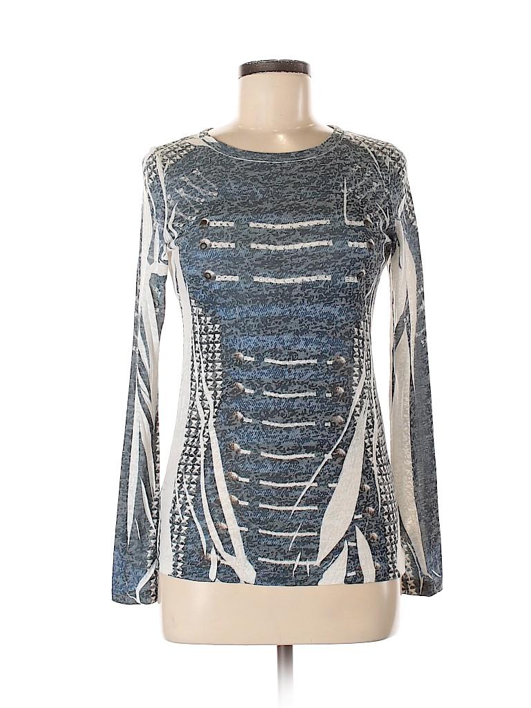 Romeo & Juliet Couture Women Long Sleeve Top Size M