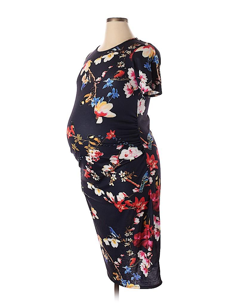 Blue Belle Women Casual Dress Size 16 (Maternity)