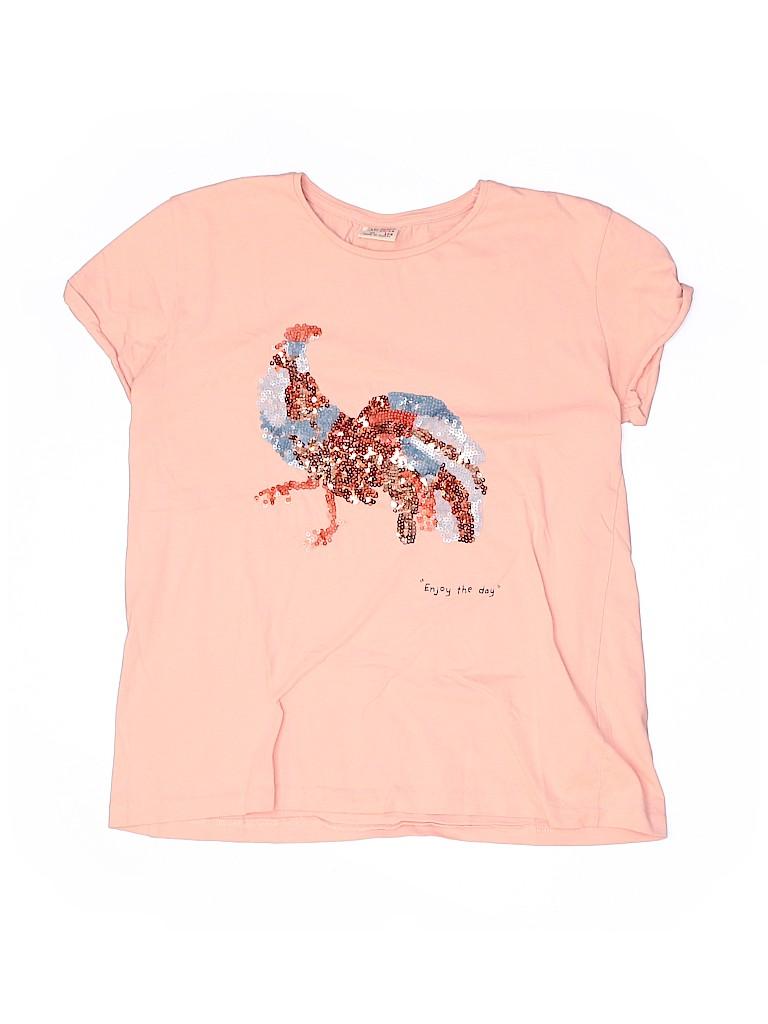 Zara Girls Short Sleeve T-Shirt Size 13 - 14