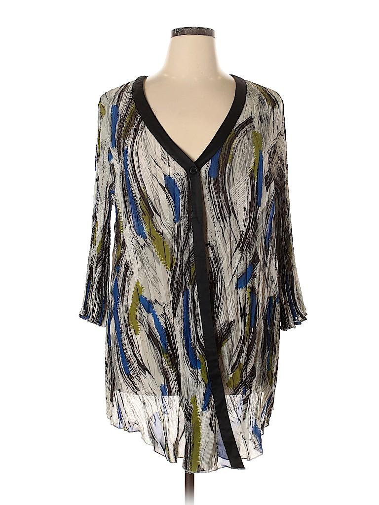 Lane Bryant Women Kimono Size 22 - 24 Plus (Plus)