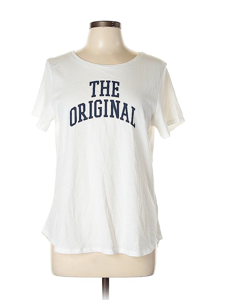 Old Navy Women Short Sleeve T-Shirt Size L